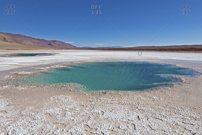 Ojo de mar in Argentina, South America