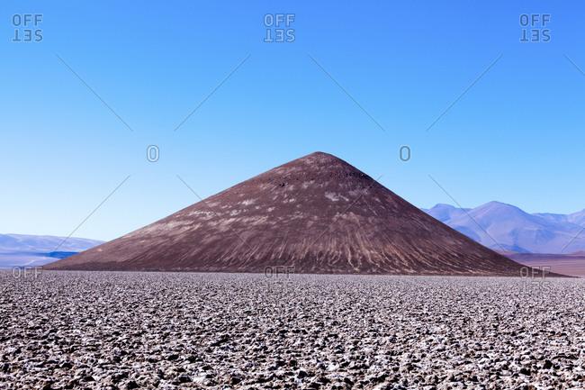 Cono de Arita, Salar de Arizaro, Puna desert, Salta Province, Argentina, South America