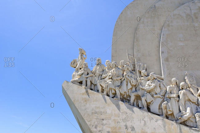 August 25, 2012: Monument to the Discoveries, Padro dos Descobrimentos, Lisbon, Portugal