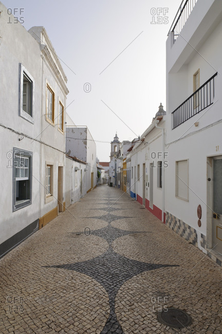 August 19, 2012: Alley in Lagos, Portugal