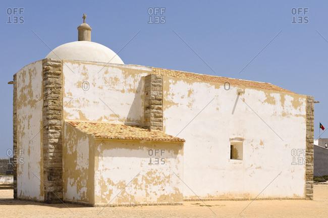 Igreja de Nossa Senhora da Graca, Fortaleza de Sagres, Portugal
