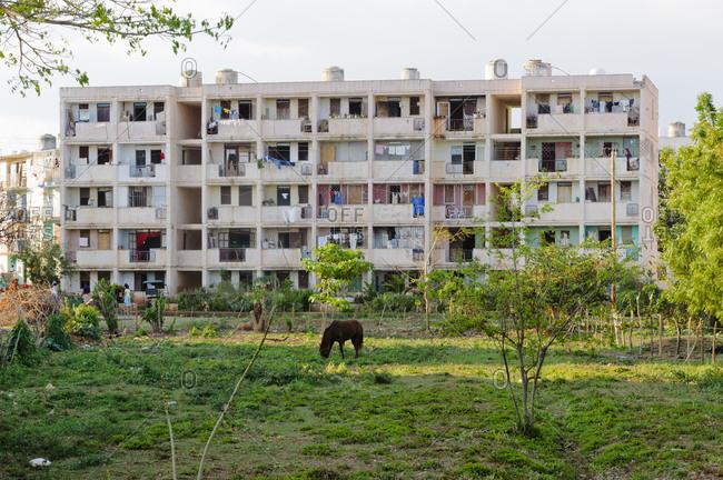 Apartment Building in Trinidad, Cuba