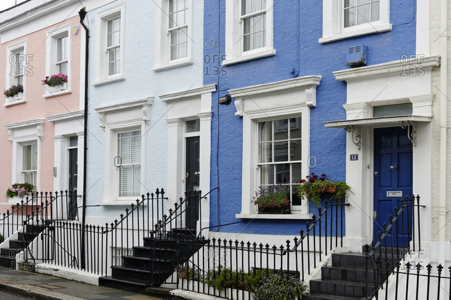 July 16, 2011: Detached, Residential, Hillgate Place, Kensington, City of Westminster, London, England, United Kingdom
