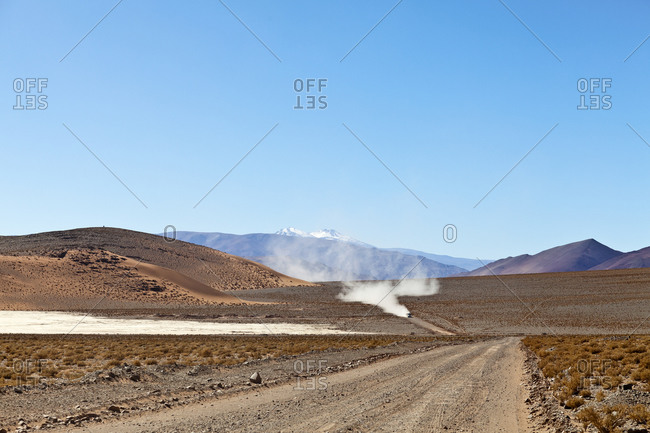 Lithium transport in the Puna Desert, Salta Province, Argentina, South America