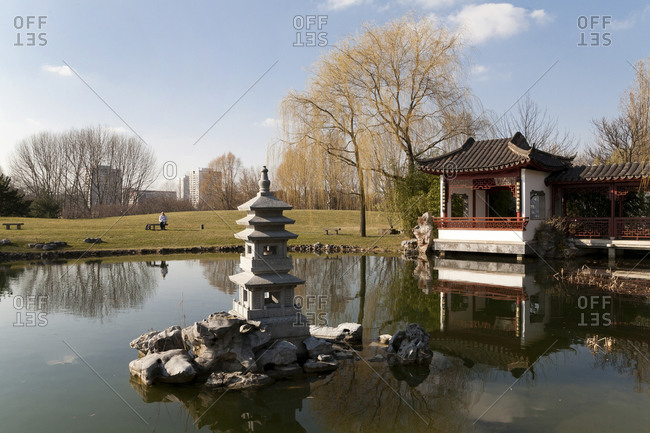 Garden of the Reclaimed Moon, Chinese Garden, Berlin, Germany