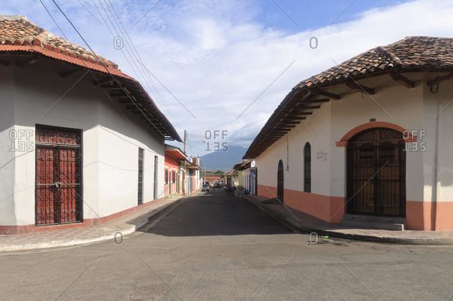 June 14, 2010: Spanish Colonial Buildings, Granada, Nicaragua, Central America
