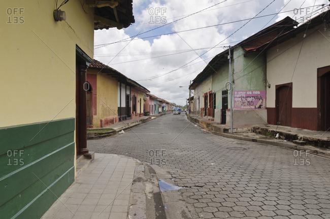 May 29, 2010: Colonial Neighborhood, Leon, Nicaragua, Central America