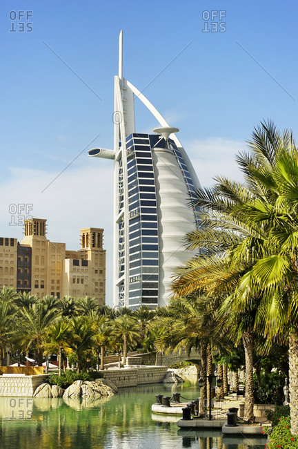 January 31, 2010: Burj Al Arab , 7-star hotel, Jumeirah, Dubai, United Arab Emirates, Middle East