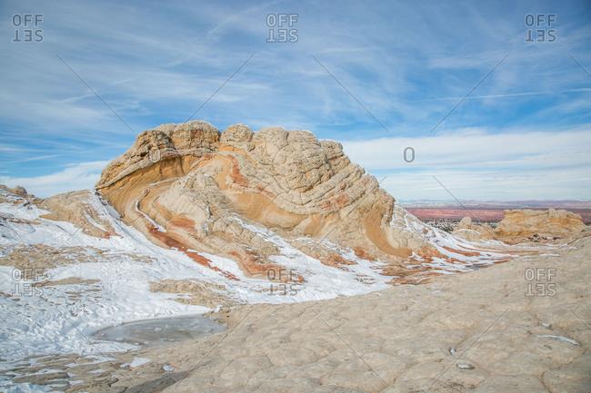 Winter at White Pocket (Vermilion Cliffs) in Northern Arizona