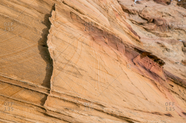 Lace rock in South Coyote Buttes