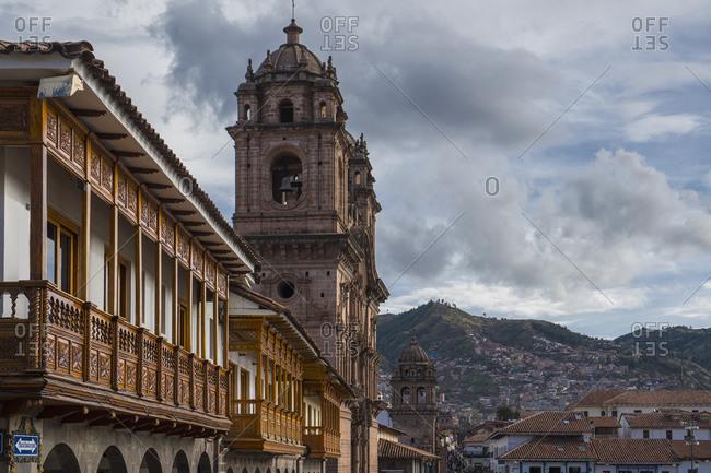 Cusco, Cusco, Peru - May 17, 2017: Plaza De Armas, Cusco, Peru, South America