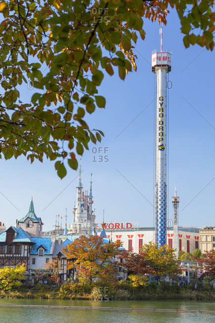 October 30, 2019: Lotte World Adventure theme park, Seoul, South Korea, Asia