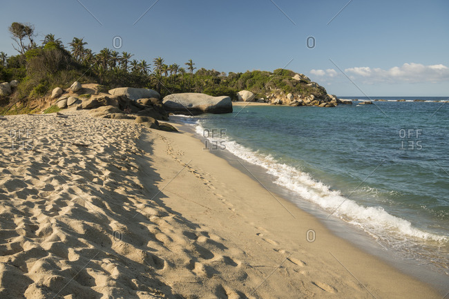 Tayrona National Park, Magdalena Department, Caribbean, Colombia, South America