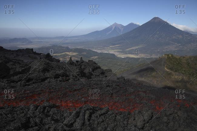 Guatemala- Pacaya volcano- Lava flow