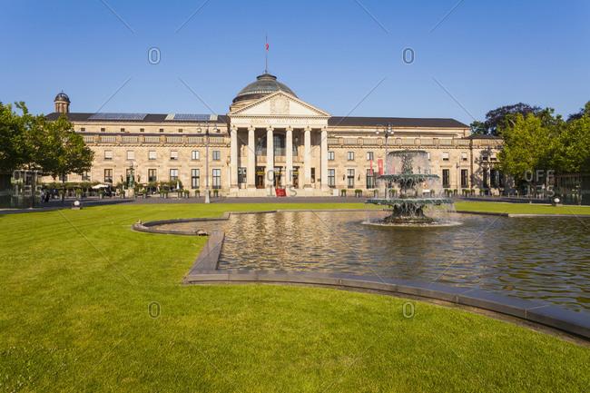 Germany- Hesse- Wiesbaden- Kurhaus - Offset