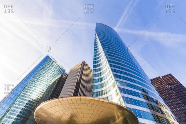 France- Paris- La Defense- modern office towers