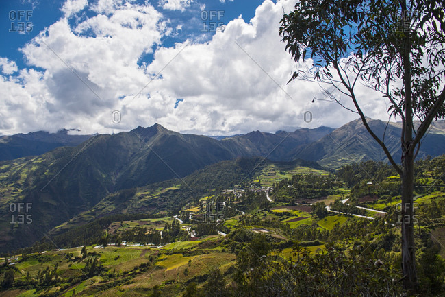 The hills above Tarma, Junin, Peru, South America