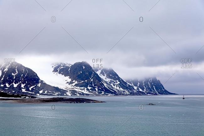 Magdalenefjorden fjord, Svalbard, Spitsbergen, Norway, Europe