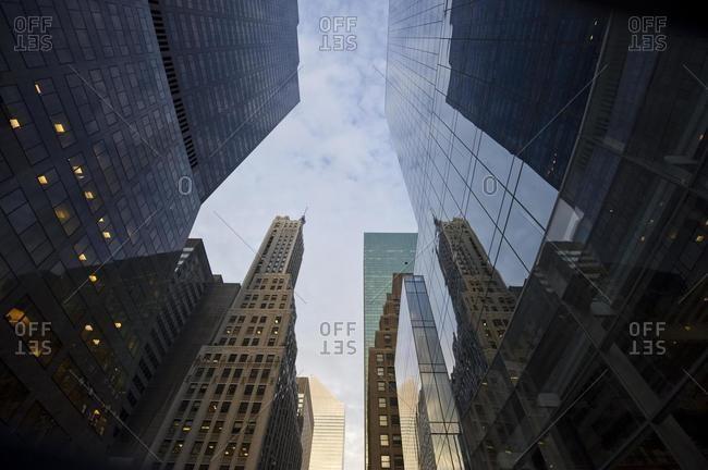 Skyscrapers on Park Avenue, Manhattan, New York, USA, America, North America
