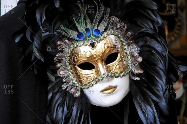 May 21, 2020: Mask, carnevale, carnival in Venice 2010, Venice, Veneto, Italy, Europe