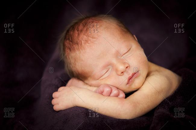 Newborn baby, one week old