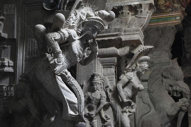 May 21, 2020: Srivilliputhur Andal temple, Srivilliputtur, Tamil Nadu, Tamilnadu, South India, India, Asia