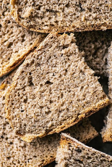 Whole Wheat Sourdough Bread Fresh