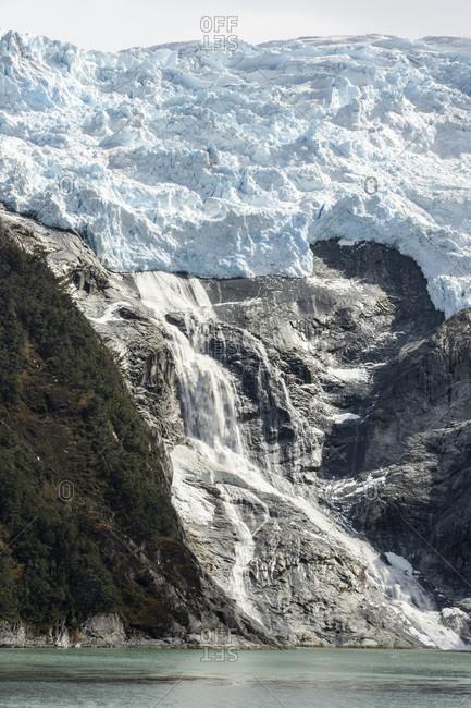 Romanche Glacier, Beagle Channel (Glacier Alley), Tierra del Fuego, Chile, South America