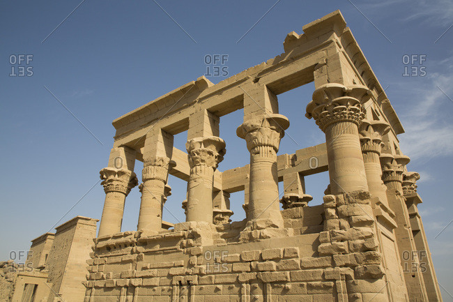 Kiosk of Trajan, Temple of Isis, UNESCO World Heritage Site, Philae Island, Aswan, Nubia, Egypt, North Africa, Africa