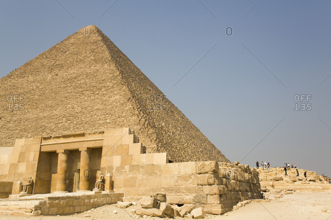 Tomb (Mastaba) of Seshem Nefer Theti, Great Pyramids of Giza, UNESCO World Heritage Site, Giza, Egypt, North Africa, Africa