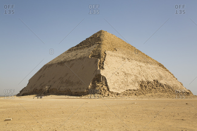 Bent Pyramid, UNESCO World Heritage Site, Dahshour, Egypt, North Africa, Africa
