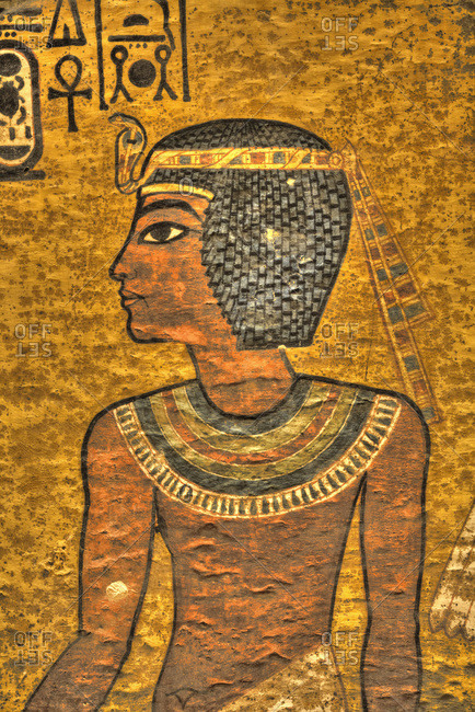 March 20, 2020: Young King Tut, Tomb of Tutankhamun, KV62, Valley of the Kings, UNESCO World Heritage Site, Luxor, Thebes, Egypt, North Africa, Africa