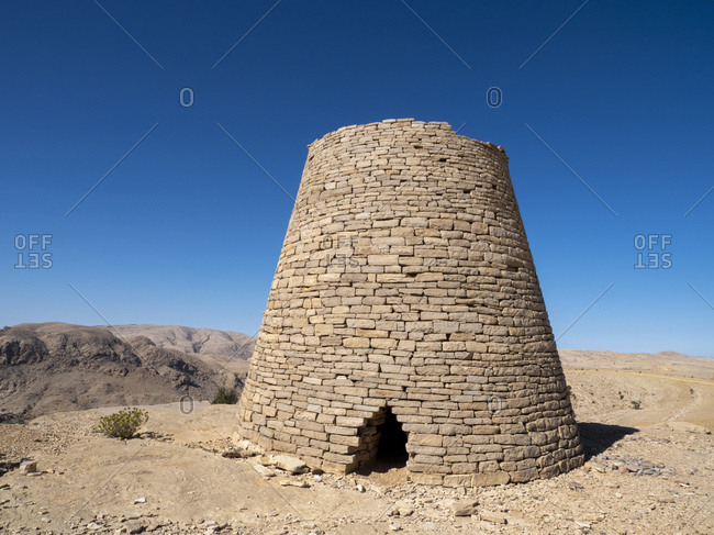 Jabal Hafeet beehive tombs, dating back thousands of years, Sultanate of Oman, Middle East