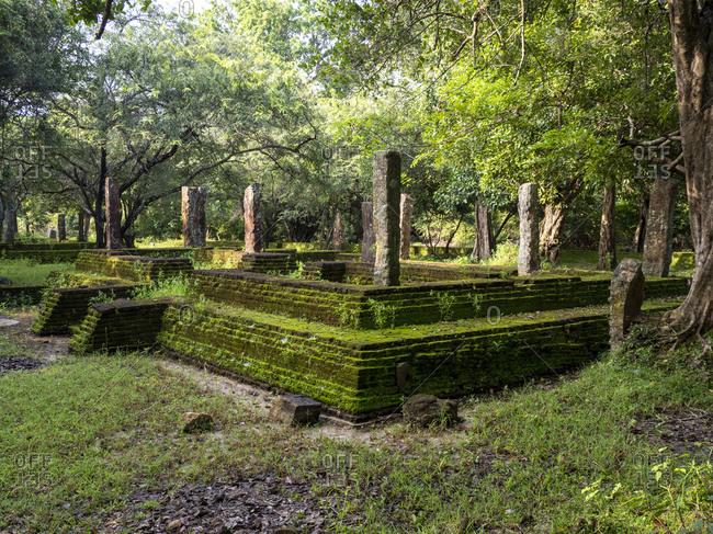 The ancient city of Polonnaruwa, UNESCO World Heritage Site, Sri Lanka, Asia