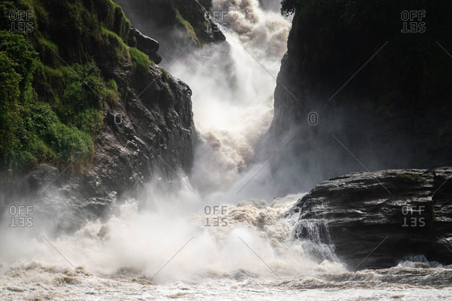 View of the Murchison Falls, Uganda, Africa