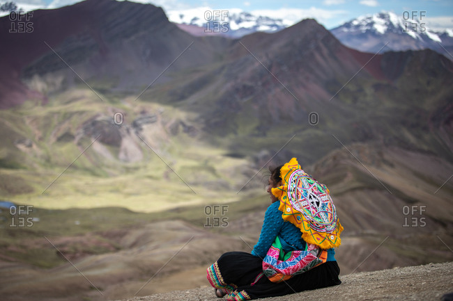 November 11, 2018: View from the Mountain of Seven Colors, Peru, South America