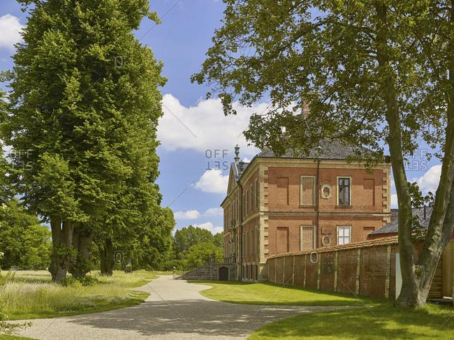 Bothmer Castle in Klotz, Mecklenburg Western Pomerania, Germany
