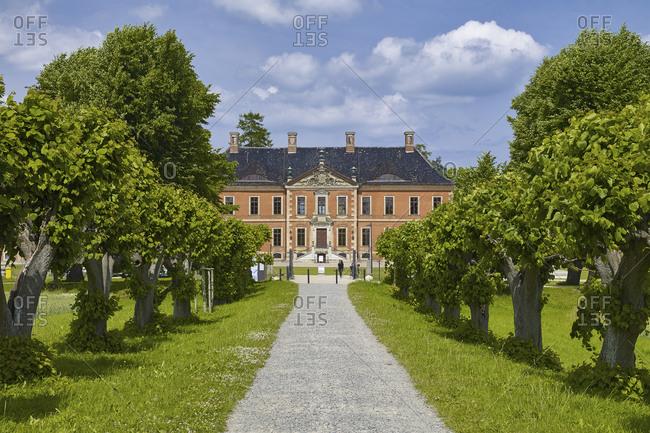 June 20,  2016: Bothmer Castle in Klotz, Mecklenburg Western Pomerania, Germany