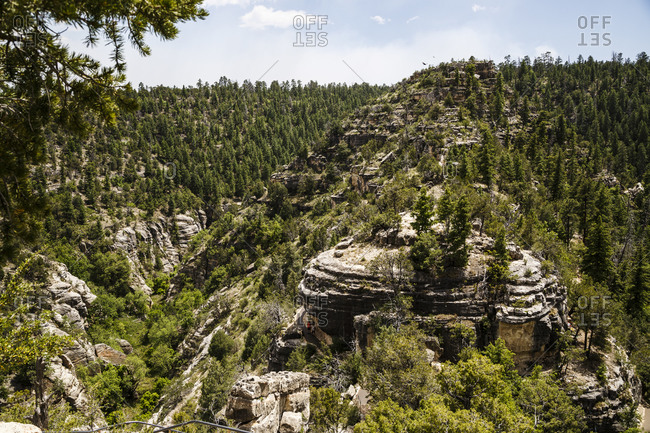 Walnut Canyon National Monument, Arizona, USA Walnut Canyon National Monument, Arizona, USA