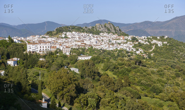 Landscape of beautiful towns of Andalucia, Spain
