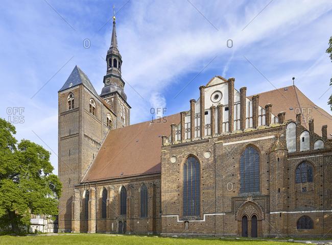St. Stephen Church in Tangermuende, Saxony-Anhalt, Germany