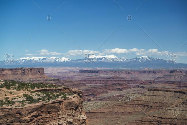 Shafer Canyon, Canyonlands National Park, Moab, Utah, USA