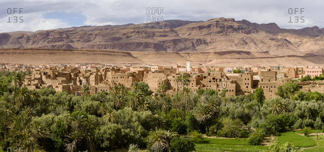 Villages of the High Atlas. morocco