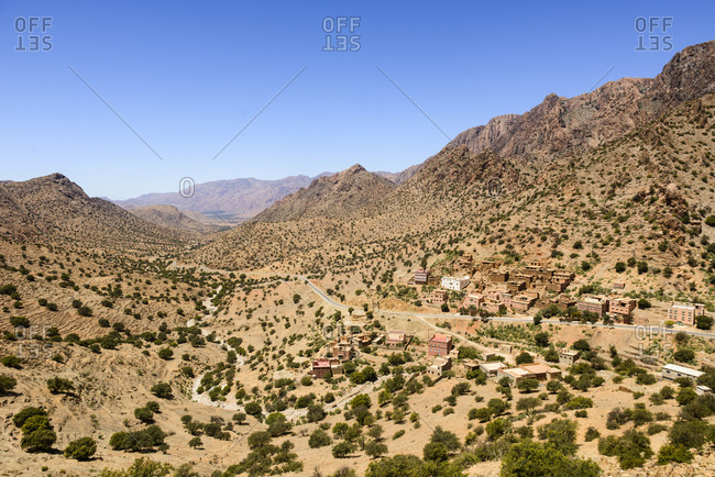 Villages of the Anti-Atlas. morocco