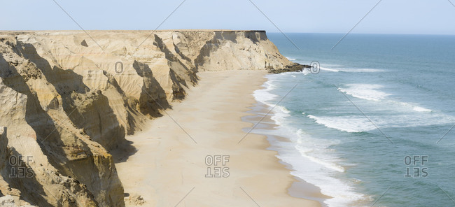 When the Sahara meets the Atlantic Ocean. Western Sahara