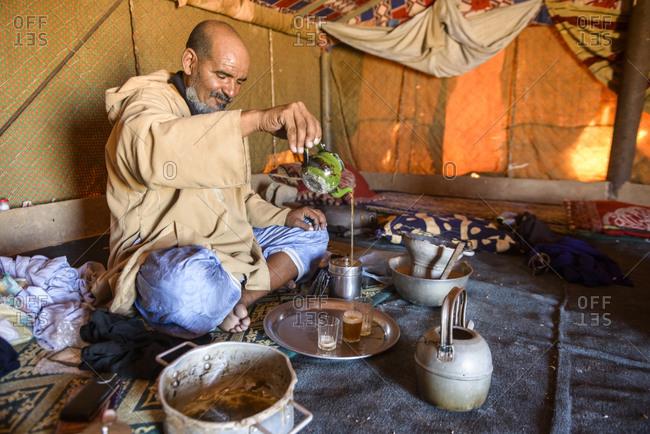 April 5,  2016: People of the Sahara, Mauritania