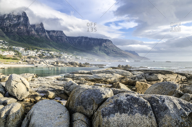 Evening Mood, Camps Bay, Cape Town, Western Cape, South Africa, Africa