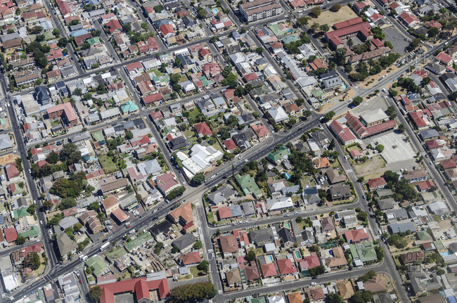 Aerial View, Cape Town, Western Cape, South Africa, Africa