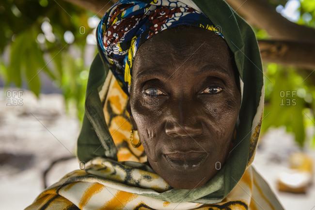 March 12,  2016: Mandinka woman, The Gambia