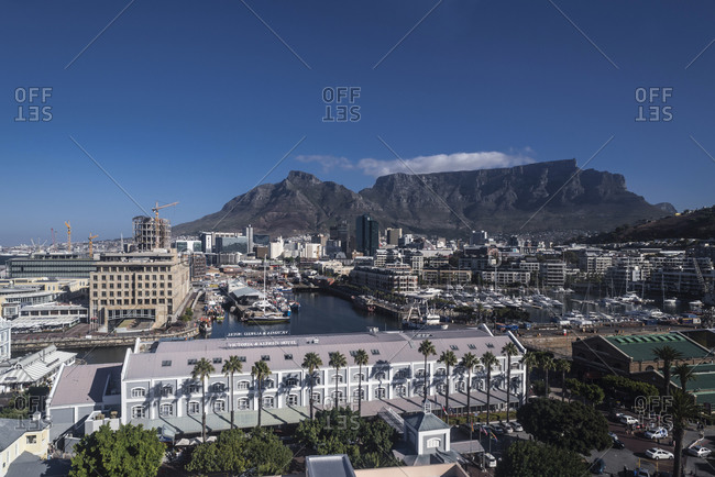March 13,  2016: Alfred Mall, Shopping Center, V & A Waterfront, Cape Town, Western Cape, South Africa, Africa
